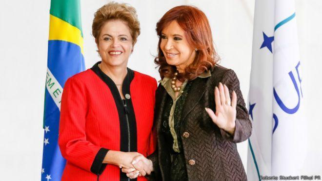 Cristina Kirchner defende Lula e Dilma e fala em 'conspiração' no continente - FORO DE S. PAULO???