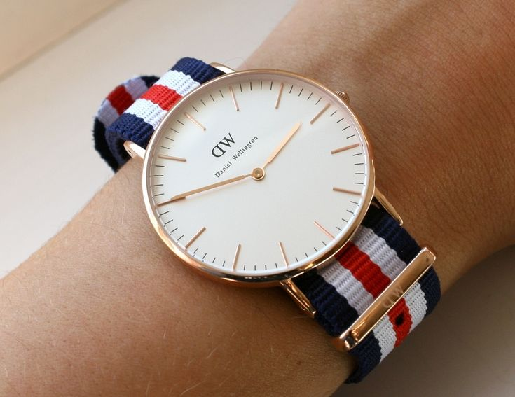 Daniel Wellington !! Should be on everyone´s wrist. My wonderful daughter bought me this :)