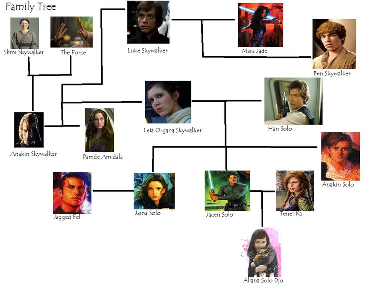 The Skywalker/Solo Family Tree by noodlesforever.deviantart.com on @DeviantArt