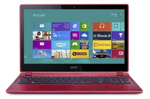 Soldes PC portable Darty, achat pas cher en Soldes PC portable Acer ASPIRE V5-573PG ROUGE prix soldes Darty 599.00 € TTC au lieu de 799 €