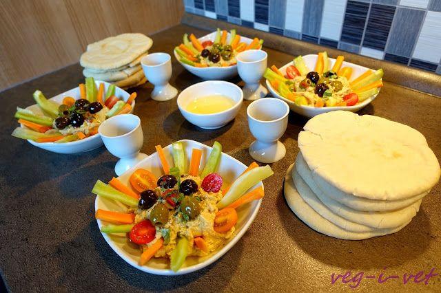 veg-i-vet: Pita chléb