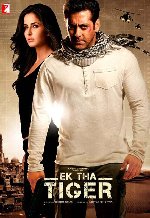 Ek Tha Tiger w/ Katrina Kaif and Salman Khan