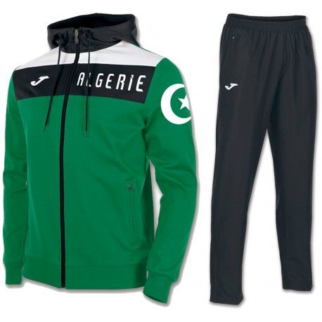Survetement Algerie 2017/2018 Capuche Officiel.