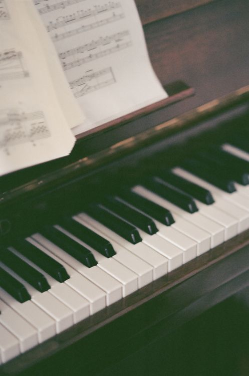 Nobody can understand what means for me playing the piano so you can take away me everything but definitly not my piano !!