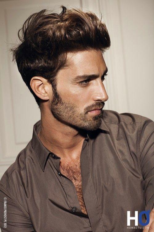 Maximiliano Patane for Franck Provost, coiffure homme, printemps été 2012