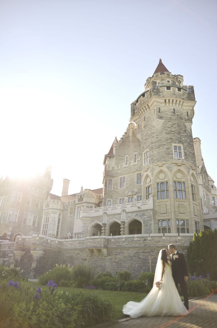Casa Loma wedding by Dana Borbely. Stunning shot.