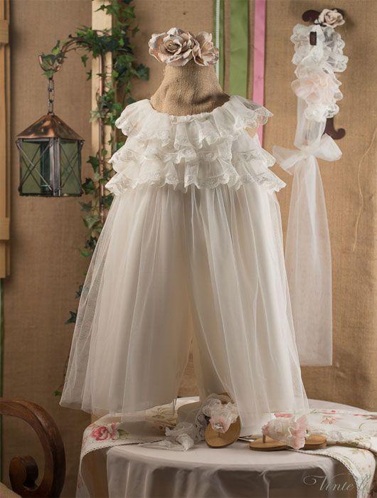 Βαπτιστικά ρούχα, παντελόνα Vinte li 2301*