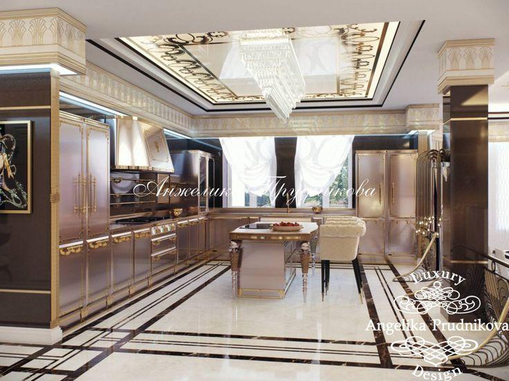 Дизайн дома в стиле арт-деко КП «Миллениум Парк» - фото
