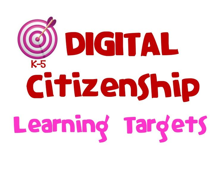 I CAN statements...Digital Citizenship & Online Safety