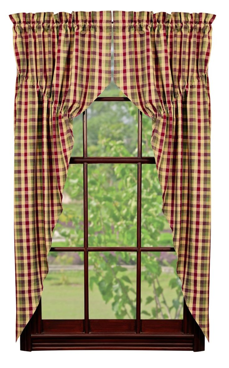 Apple Cider Prairie Curtain