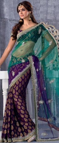 Sari. love the colors!
