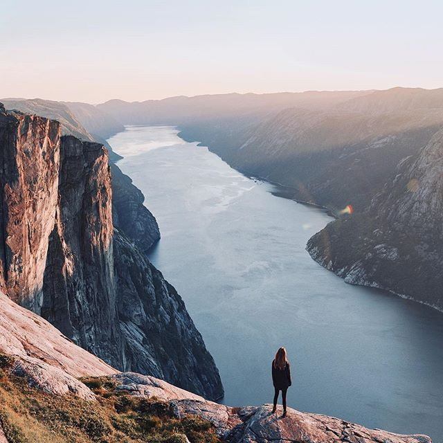 In between Italy and Greece, we went on a 5 day Norway roadtrip. Finally, a video of it is now up on YT Annie Tarasova  Standing on a cliff at golden hour overlooking this breathtaking view, my thoughts looked something like this: There is so much Nature can teach you if you simply listen and watch. Living in harmony. Learning to go with the flow. The art of being patient - everything will come to you when the timing is right. Being present. When was the last time you sat down and simpl...