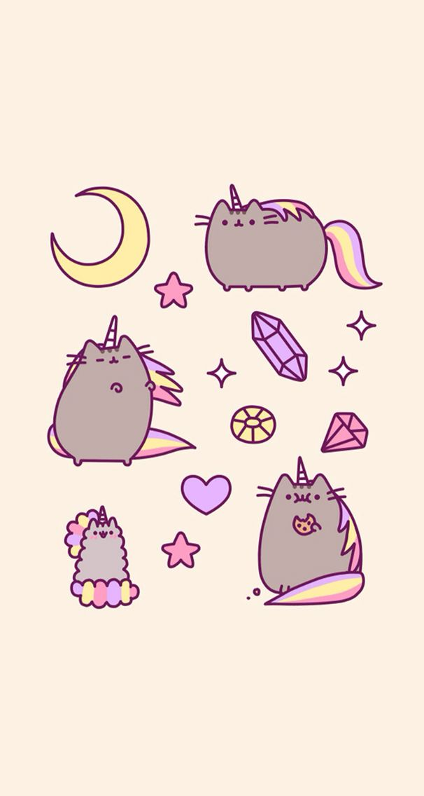 #pusheen #unicorn