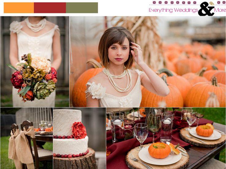 Fall+Pumpkin+Wedding+Inspiration