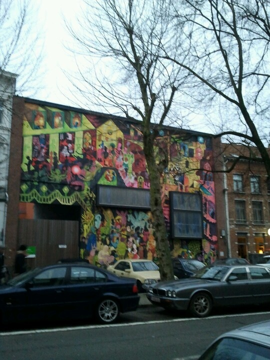 Kloosterstraat Antwerp graffiti