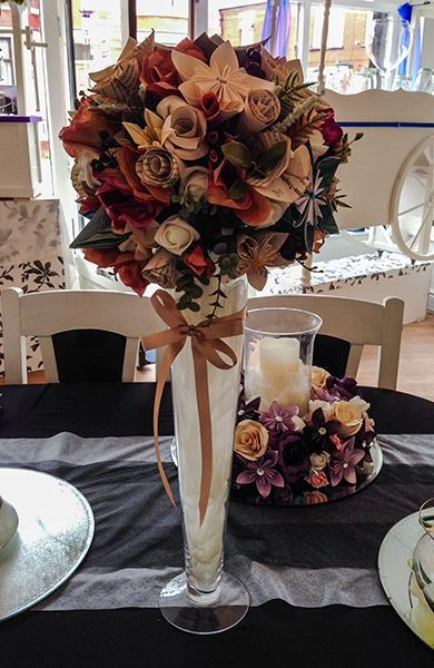 Origami Wedding Centerpieces