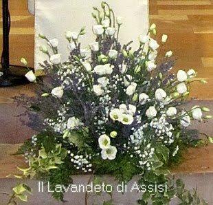 Addobbi floreali per matrimonio
