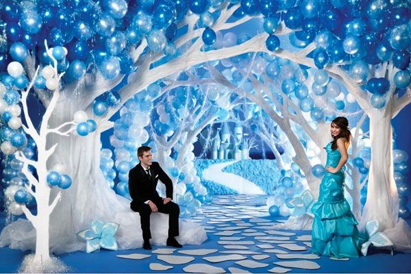 12 best images about stage decor on pinterest snowflakes for Winter dance decorations