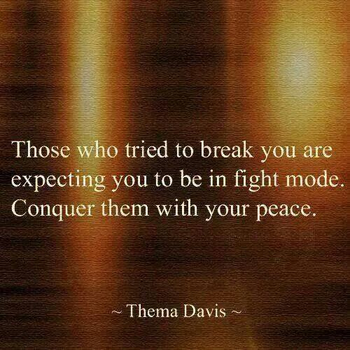 I've encountered a few people, that have given it a try. Never Works. I'm way too strong to allow such disrespectful, vindictive revenge...