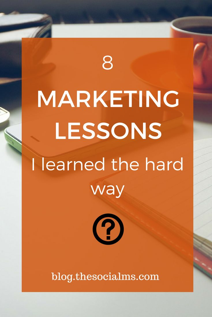 Marketing often sounds easy, and straightforward. But it is a rocky path. And you will get some marketing lessons for free - and you need to learn them or they will come back at you! marketing advice, marketing for beginners, marketing tips, marketing ideas #marketingtips #marketing #onlinemarketing #socialmediamarketing