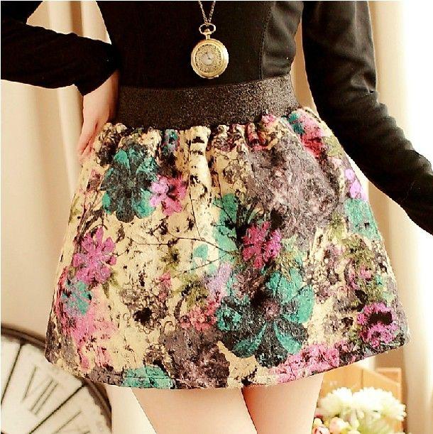 moda faldas cortas 2014- vitage