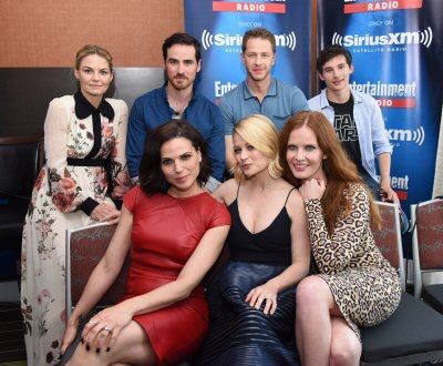 The awesome cast of #Once #SiriusXMEW interview room #ComicCon2016 #SanDiego #Ca Saturday 7-23-16
