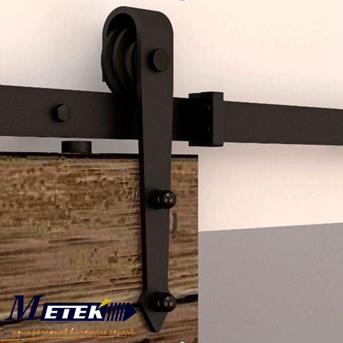 Глобальный Бесплатная Доставка 4.9FT/6FT/6.6FT интерьер висит сарай фурнитура для раздвижных дверей