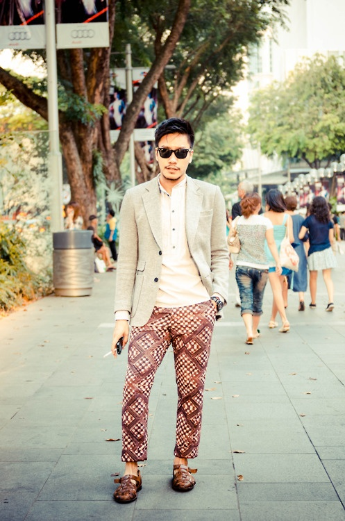 #Singapore Street Style for Men.......Keeping it fresh ...