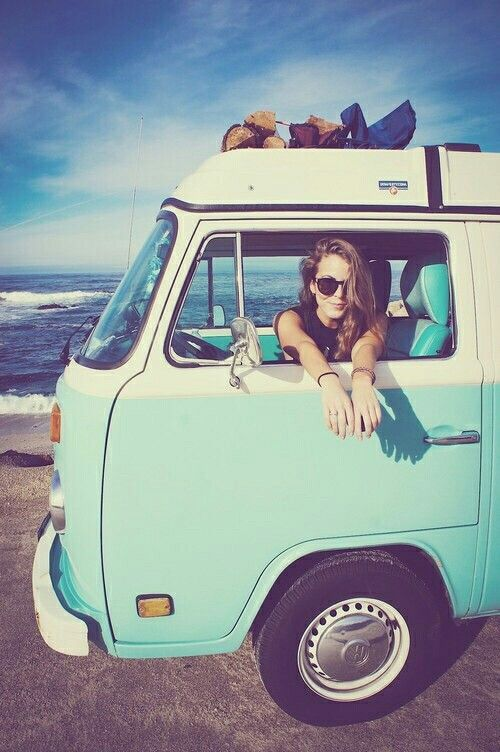 Doesn't this look like a blast? #RoadTrip #Travel #VW #Bus #Roads #Classic