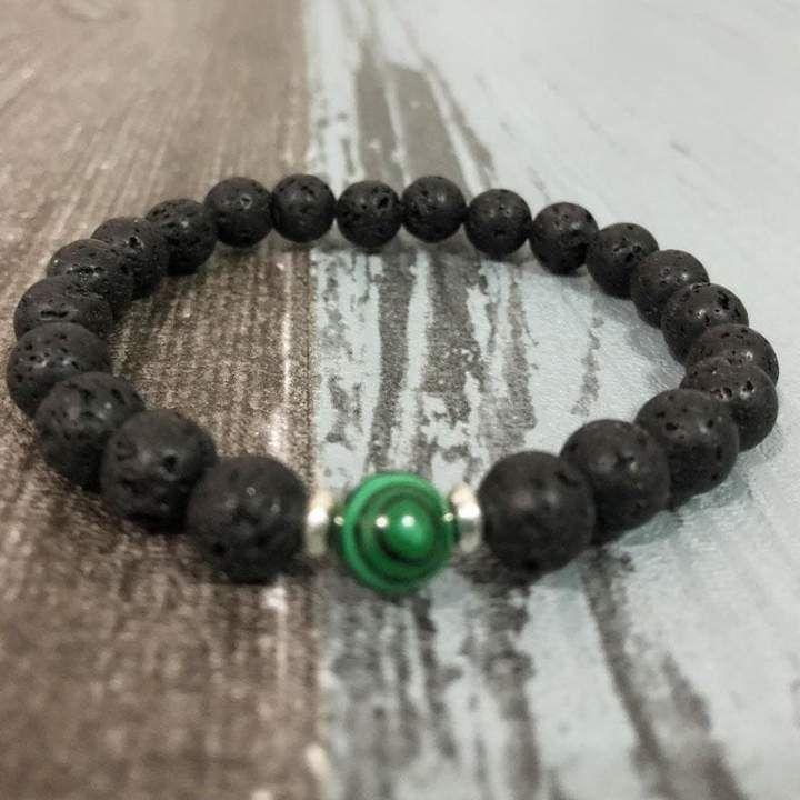 Men/'s Chakra Bracelet Buddha Head Bracelet Lava Stone Bracelet Jasper Bracelet Yoga Bracelet Gift for Men Malachite Bracelet Beaded Bracelet