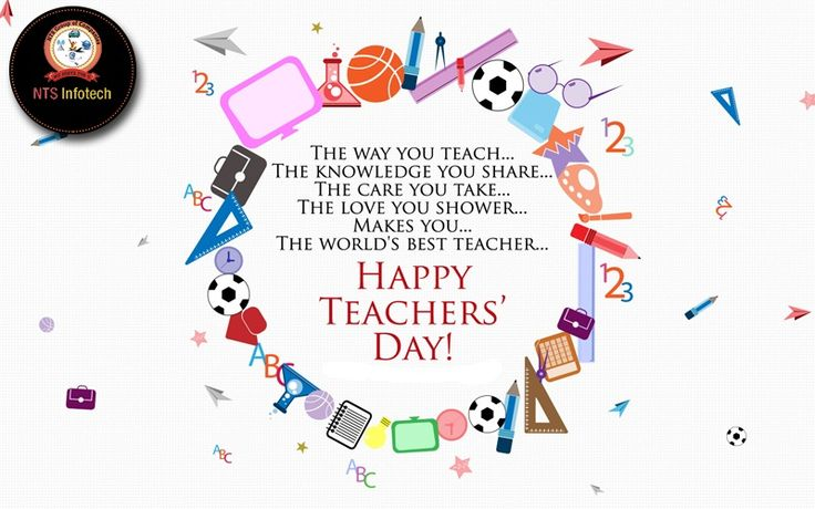 Happy Teacher's Day.Please visit us-www.ntsinfotechindia.com