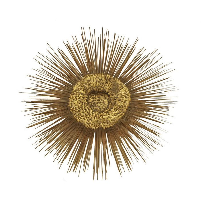 An American Metal Sunburst Wall Decoration By William Friedle Part 38
