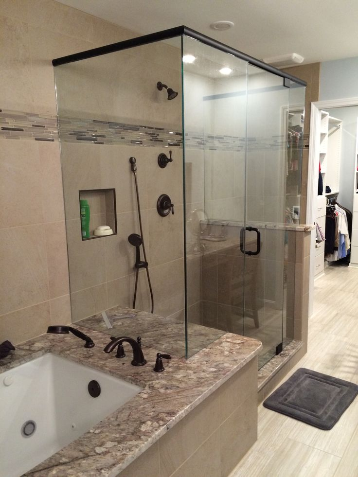 the frameless glass shower cube if only i could talk a client into a four