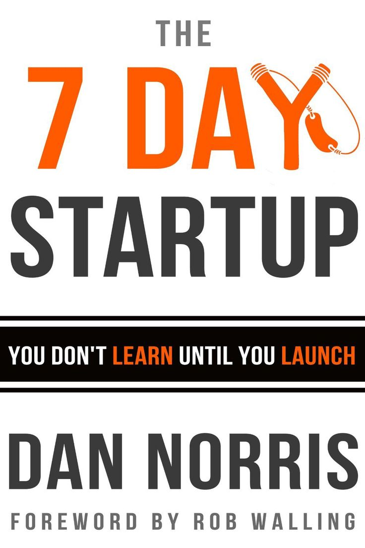 The 7 Day Startup: You Don't Learn Until You Launch Ebook Epub