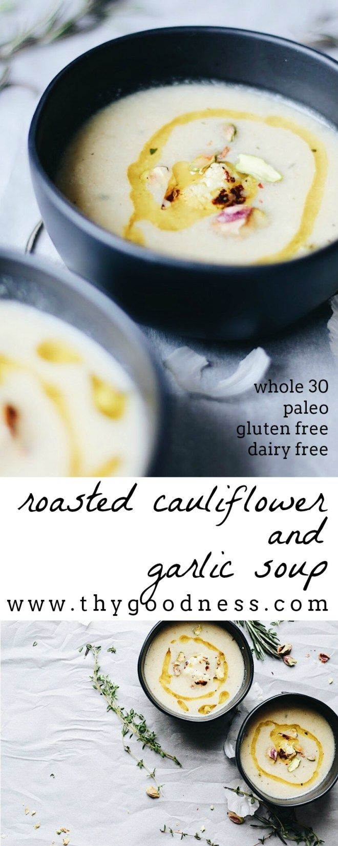 Grab your blanket and your favorite book. Roasted Cauliflower & Garlic Soup is a great addition to your Sunday afternoon. It is whole30 and…Continue Reading