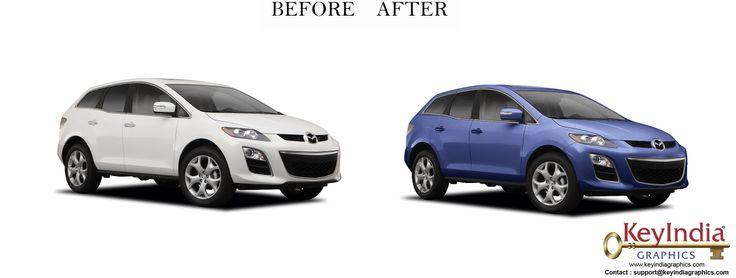 Automobile Photo Retouching by  KeyIndia Graphics