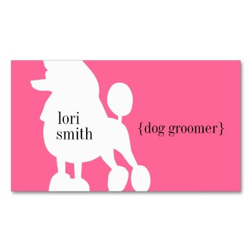 1000 images about animal pet care business cards on pinterest for Grooming business cards