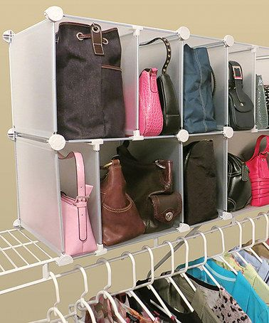 Another great find on #zulily! Park-a-Purse Modular Organizer #zulilyfinds