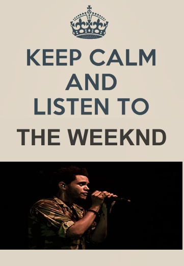 The Weeknd:)