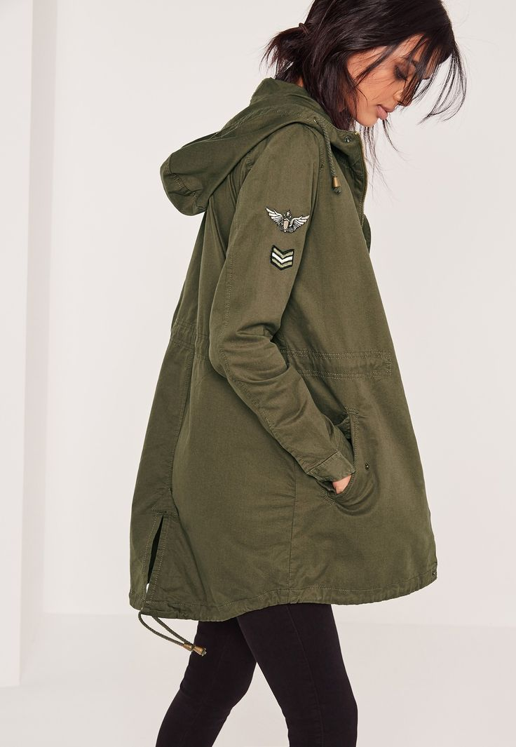 get a military inspired and look super chilled in this kick ass khaki jacket…