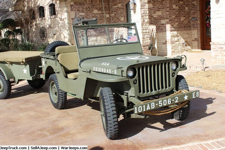Military Jeeps For Sale and Military Jeep Parts For Sale - 1943 GPW Jeep