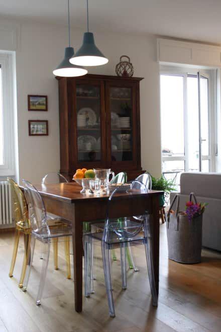 casa dei colori: Sala da pranzo in stile in stile Eclettico di studio ferlazzo natoli