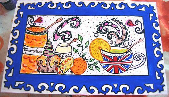 """Boite à Thé """"So British"""" par Smithy'Créations"""