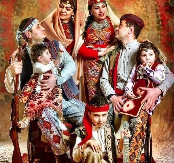 Հայ ավանդական ընտանիք | Armenia known and unknown ...