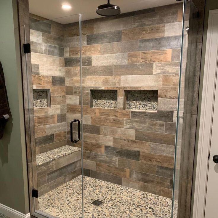 unique photo peelandstickbathroomtile  bathroom shower