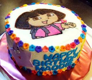 22 best Dora the Explorer Cakes images on Pinterest Dora cake