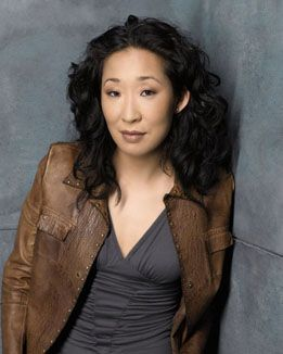 Sandra Oh just looks like she'll be a great leader with her no-nonsense attitude, that's why I casted her as the Commander of the Guardians in my series Tales of the Onyx Labyrinth.