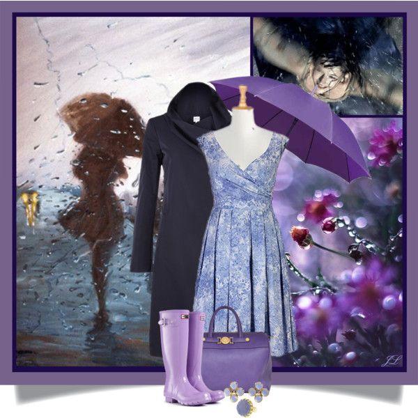 """Purple Rain"" by jenalind on Polyvore"