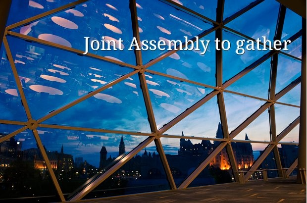 Joint Assembly to gather, Mar 1