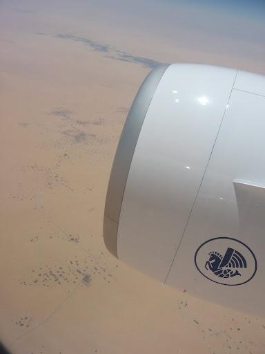au dessus du désert mauritanien